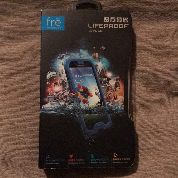 fre Lifeproof phone case for Galaxy S4 f2cd633dd5
